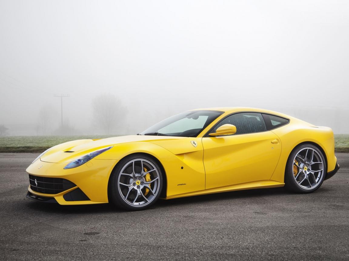 Ferrari amarillo - 1152x864