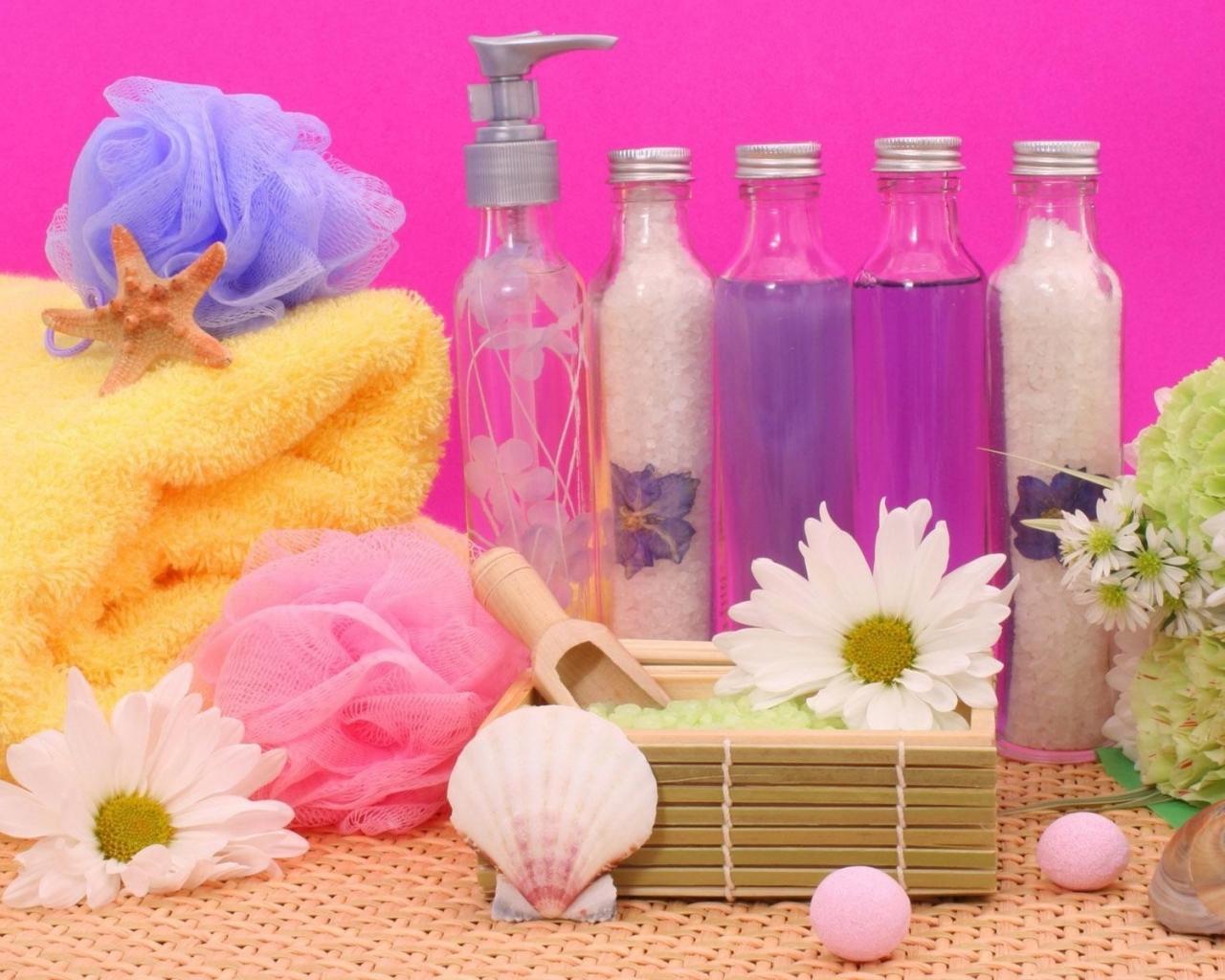 Flores y aromas - 1280x1024