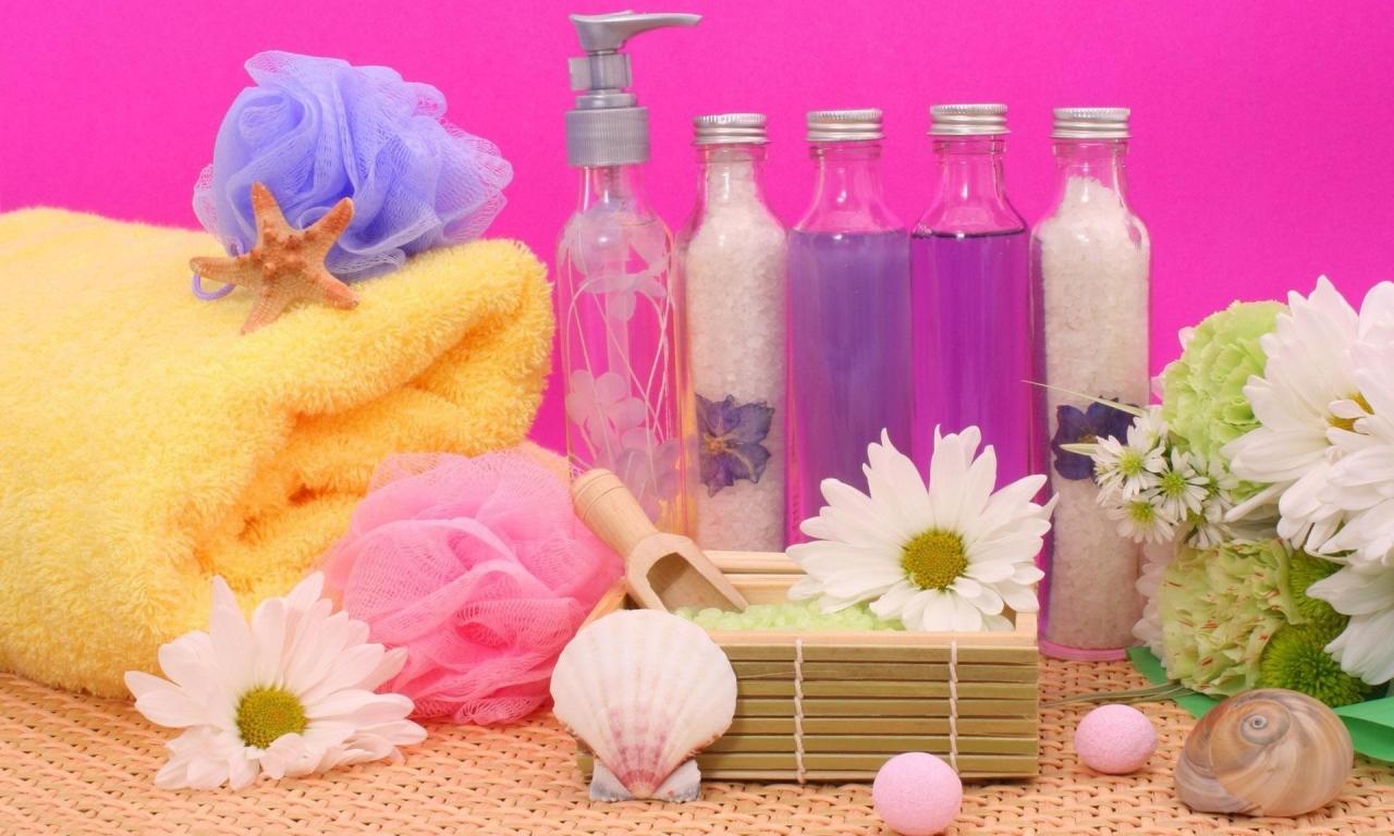 Flores y aromas - 1280x768