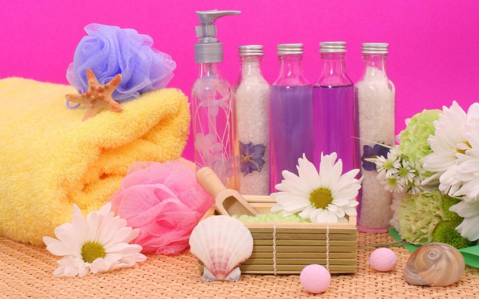 Flores y aromas - 1680x1050