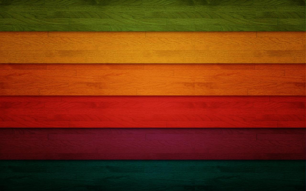 Franjas de colors - 1280x800