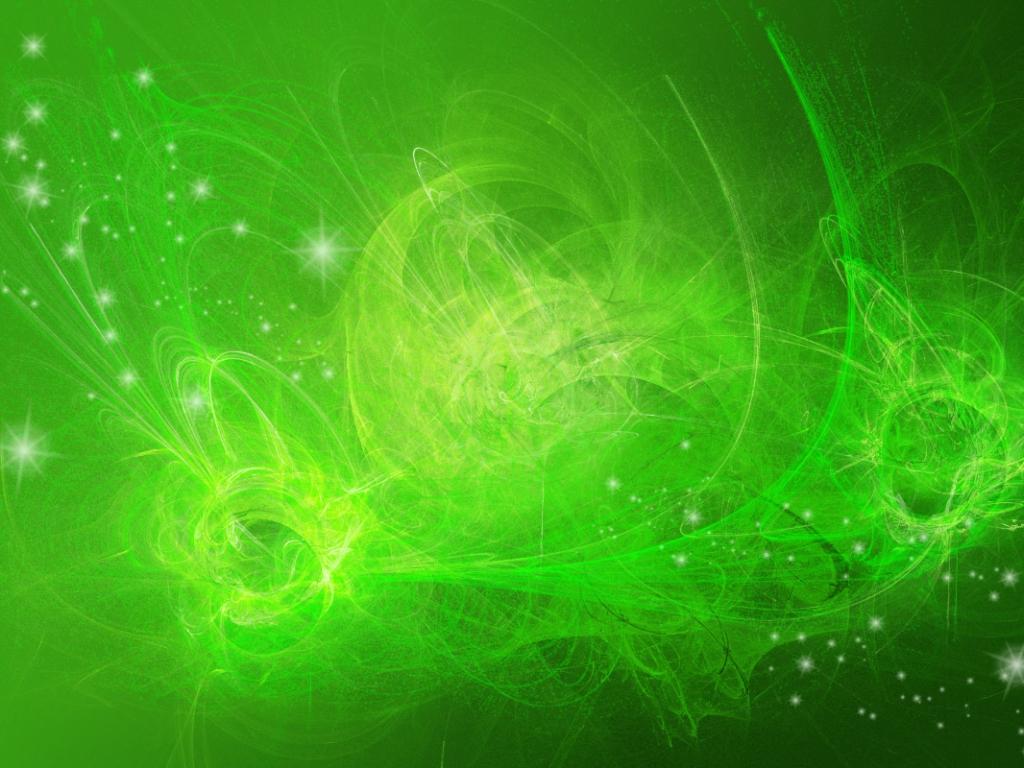 Fondo verde abstracto - 1024x768