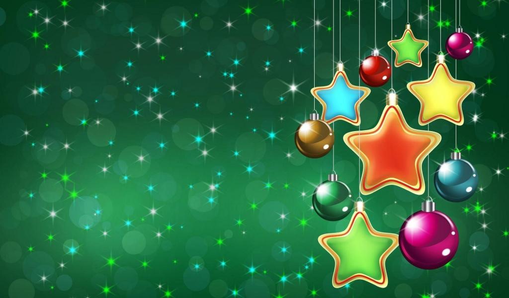 Fondo verde navidad - 1024x600