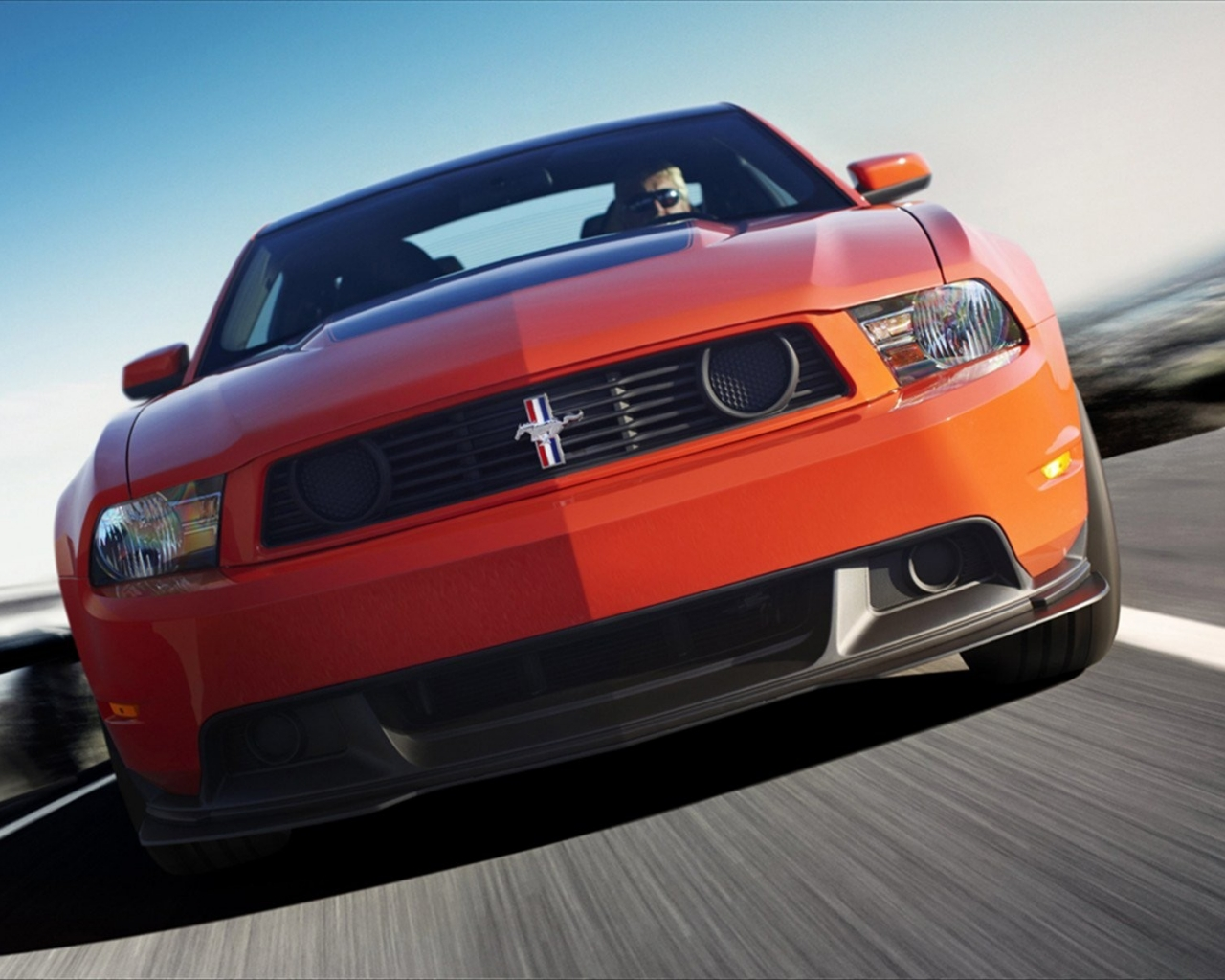 Ford Mustang Boss 302 - 1280x1024