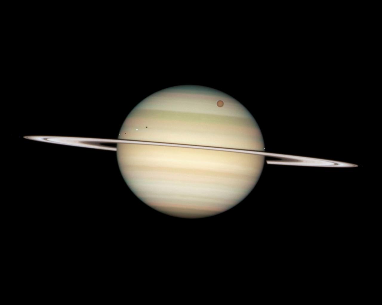 Fotografía de Saturno - 1280x1024