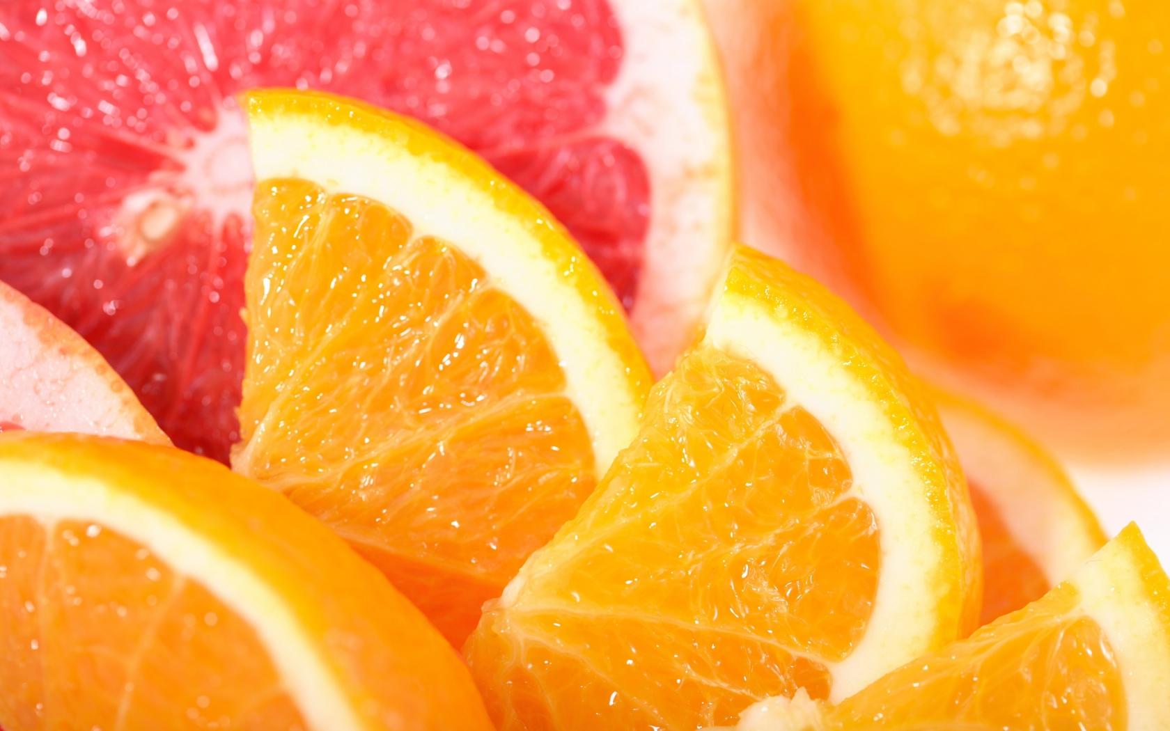 Frutas de naranjas - 1680x1050