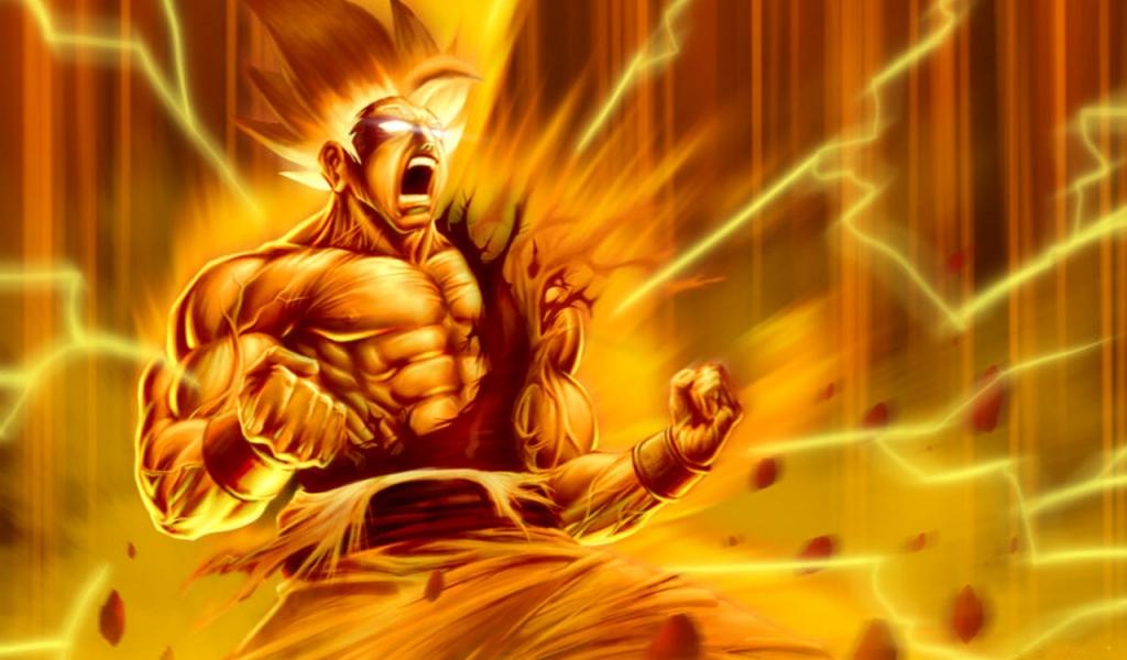 Goku super Sayayin - 1024x600