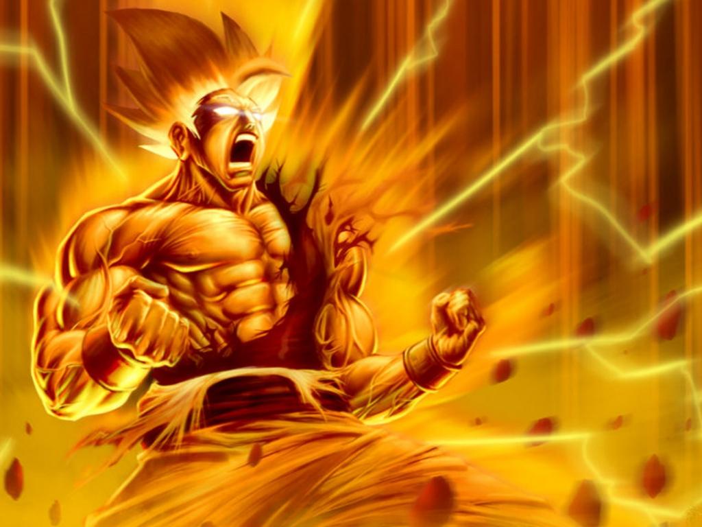 Goku super Sayayin - 1024x768