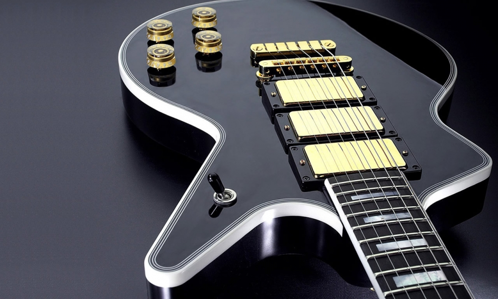Guitarra modelo Les Paul - 1000x600