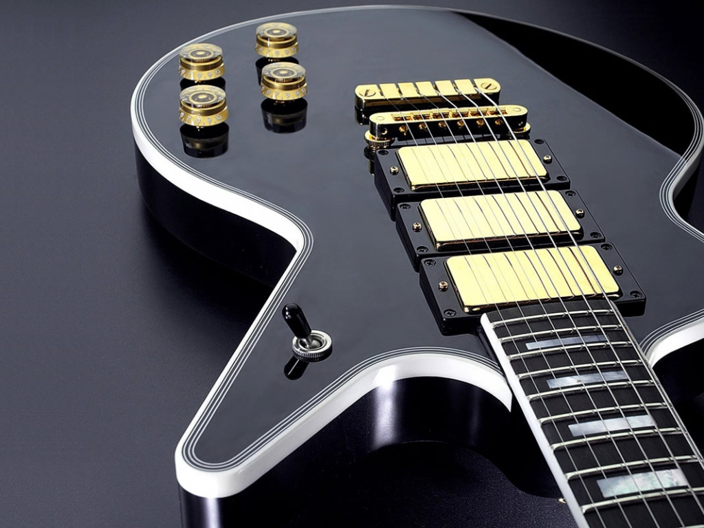 Guitarra modelo Les Paul - 1024x768
