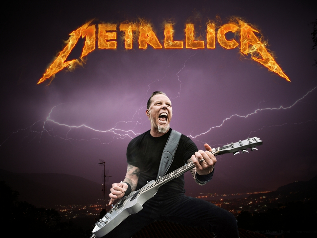 Guitarrista de Metallica - 1024x768