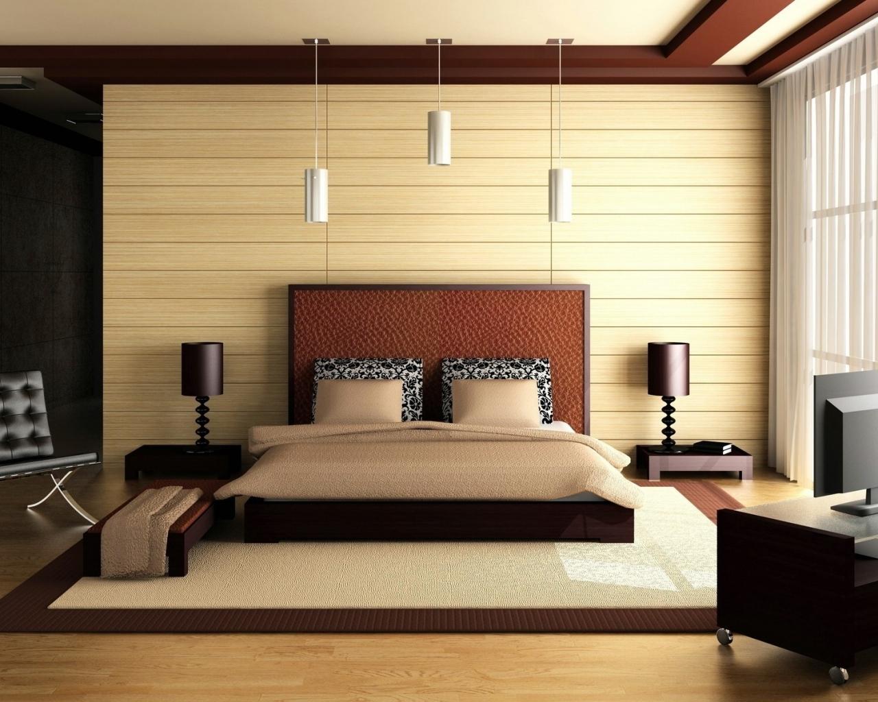 Habitación matrimonial 3D - 1280x1024