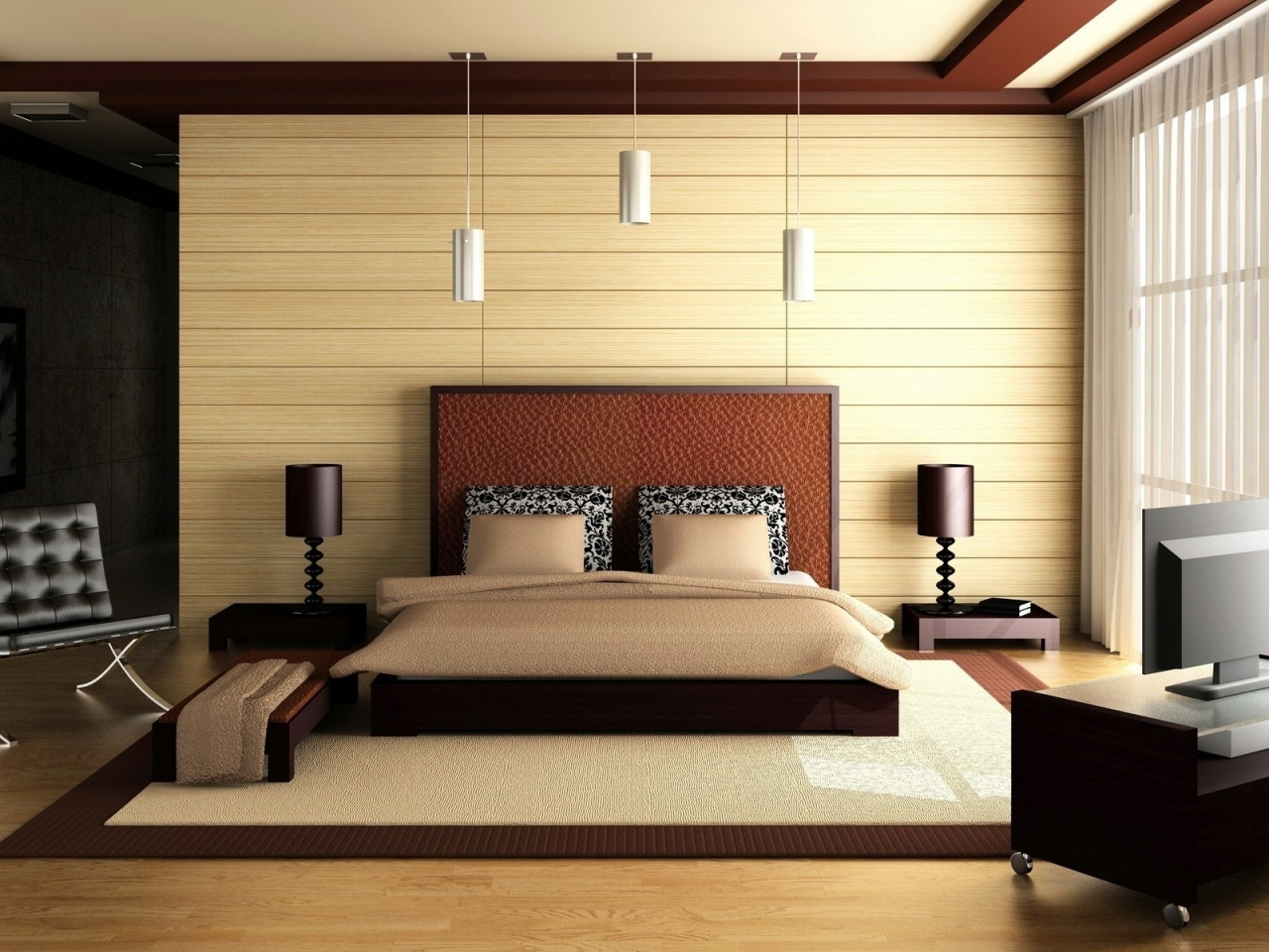 Habitacin Matrimonial 3D Hd 1280x960 Imagenes