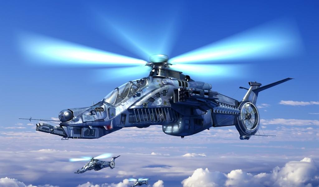 Helicóptero de videojuegos - 1024x600