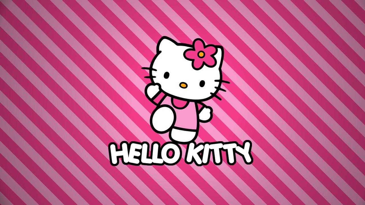 Hello Kitty - 1280x720