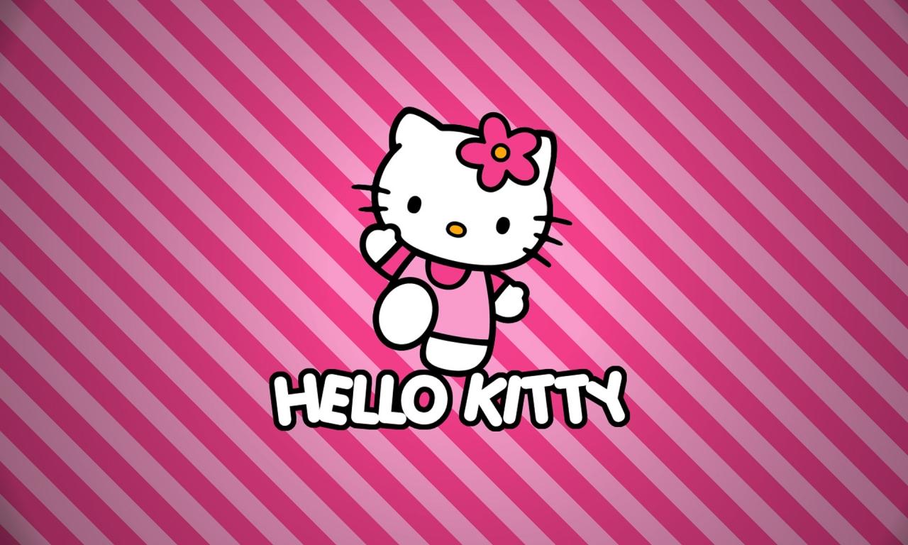 Hello Kitty - 1280x768