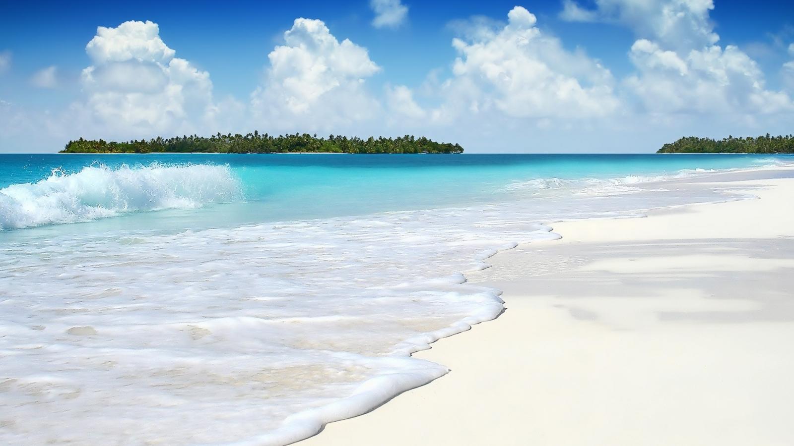 Hermosa playa - 1600x900