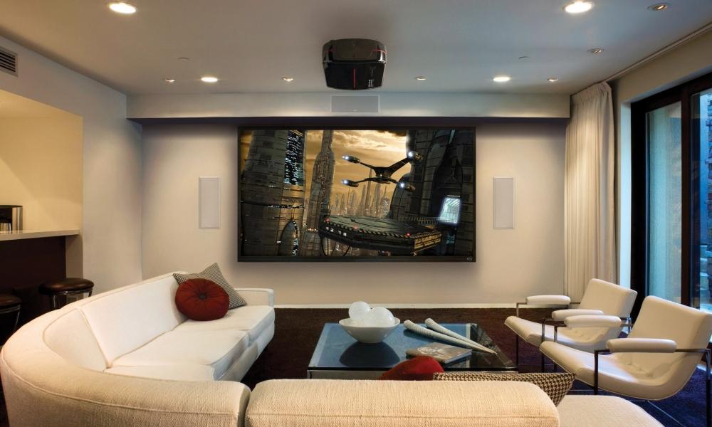 Hermosa Sala Para Ver Películas Hd 1000x600