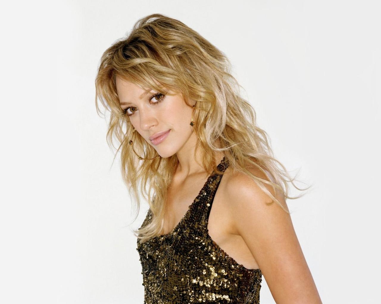 Hilary Duff rubia - 1280x1024
