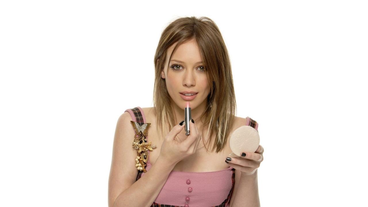 Imagenes De Maquillaje Para Descargar: Hilary Duff Y Su Maquillaje Hd 1280x720