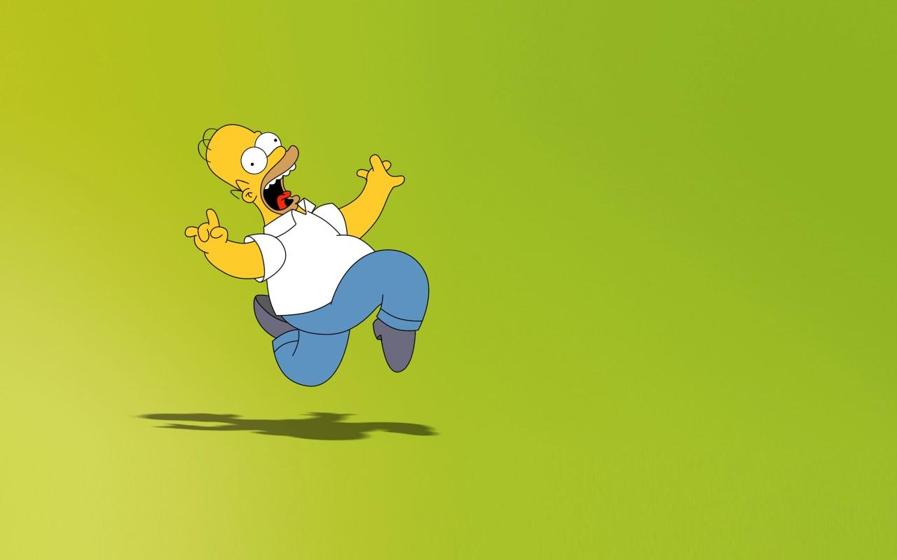 Homero Simpson - 1280x800