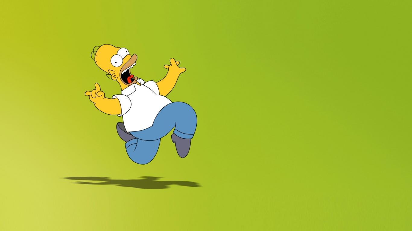 Homero Simpson - 1366x768