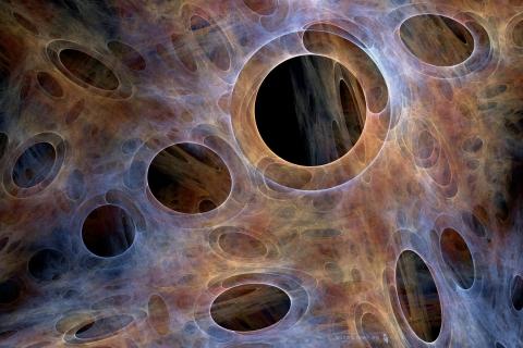 Huecos abstractos - 480x320