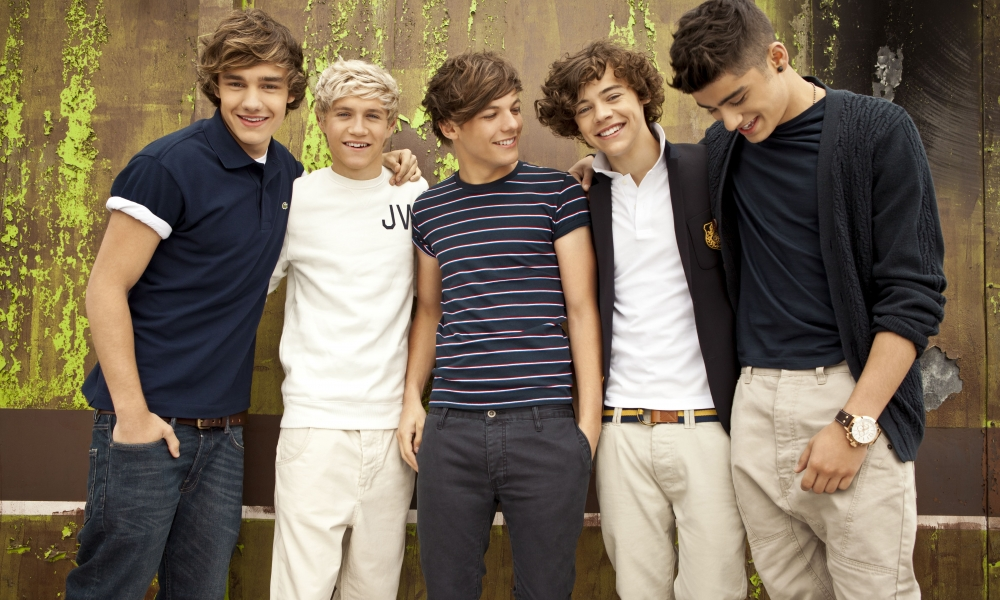 Integrantes de One Direction - 1000x600