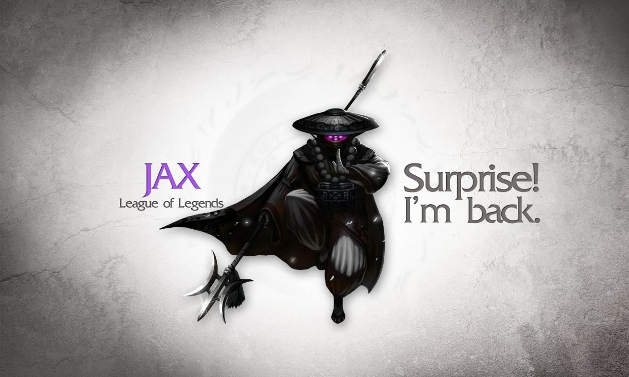 Jax, La liga de leyendas - 1280x768