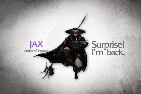 Jax, La liga de leyendas - 480x320