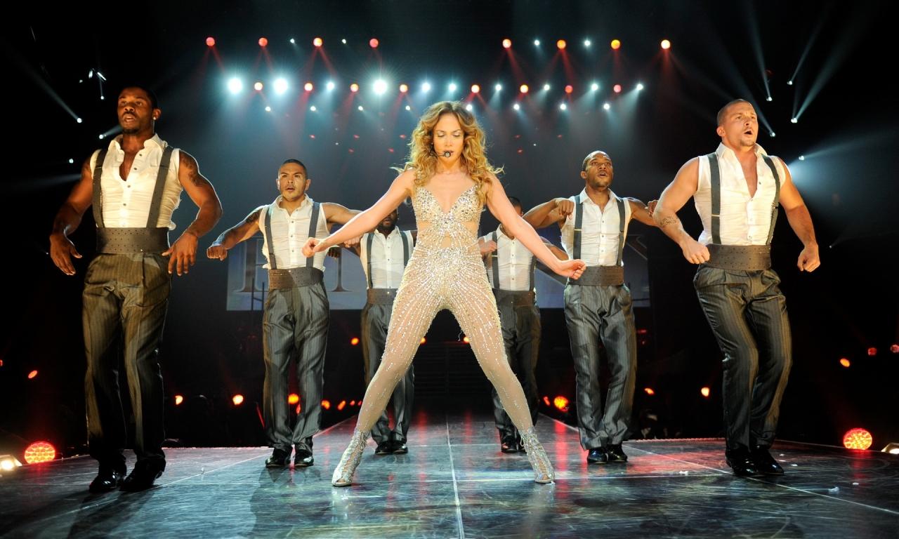 Jennifer Lopez en concierto - 1280x768