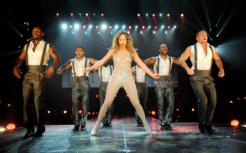Jennifer Lopez en concierto - 1440x900
