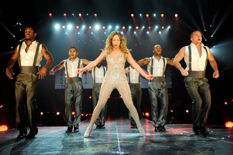 Jennifer Lopez en concierto - 480x320