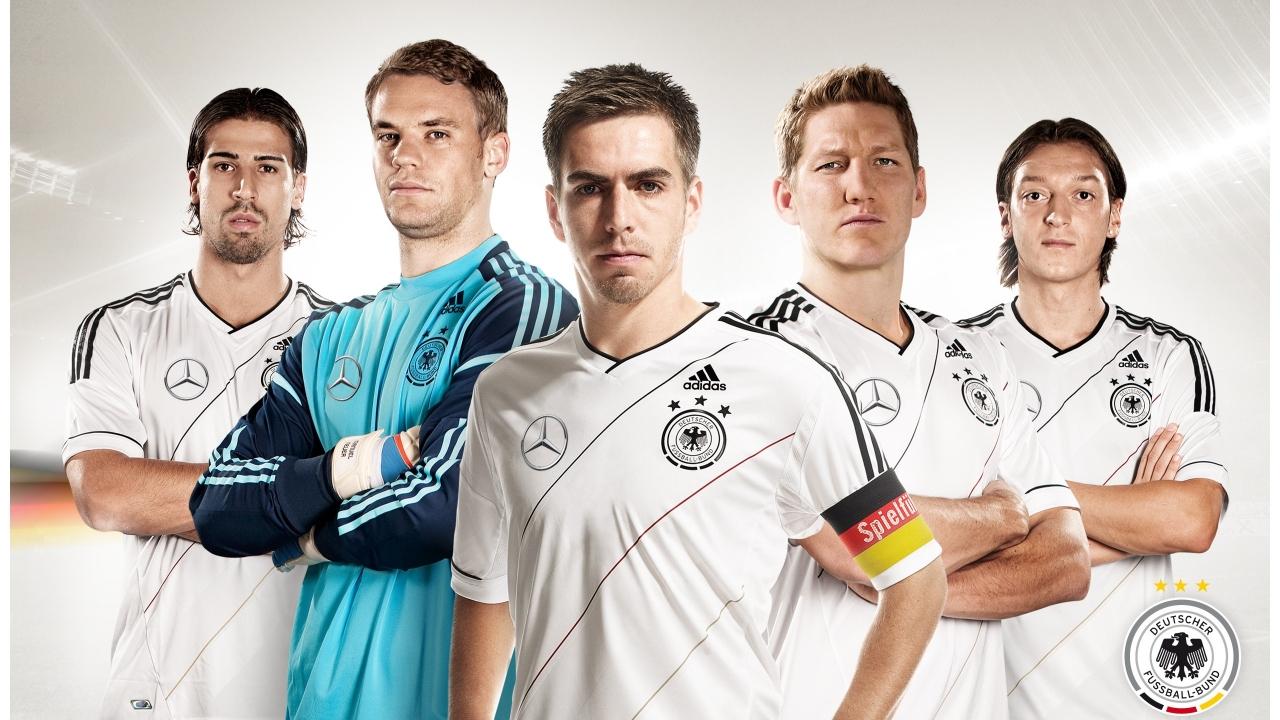 Jugadores de Alemania - 1280x720