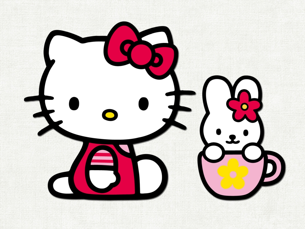 La gatita de Hello Kitty - 1024x768
