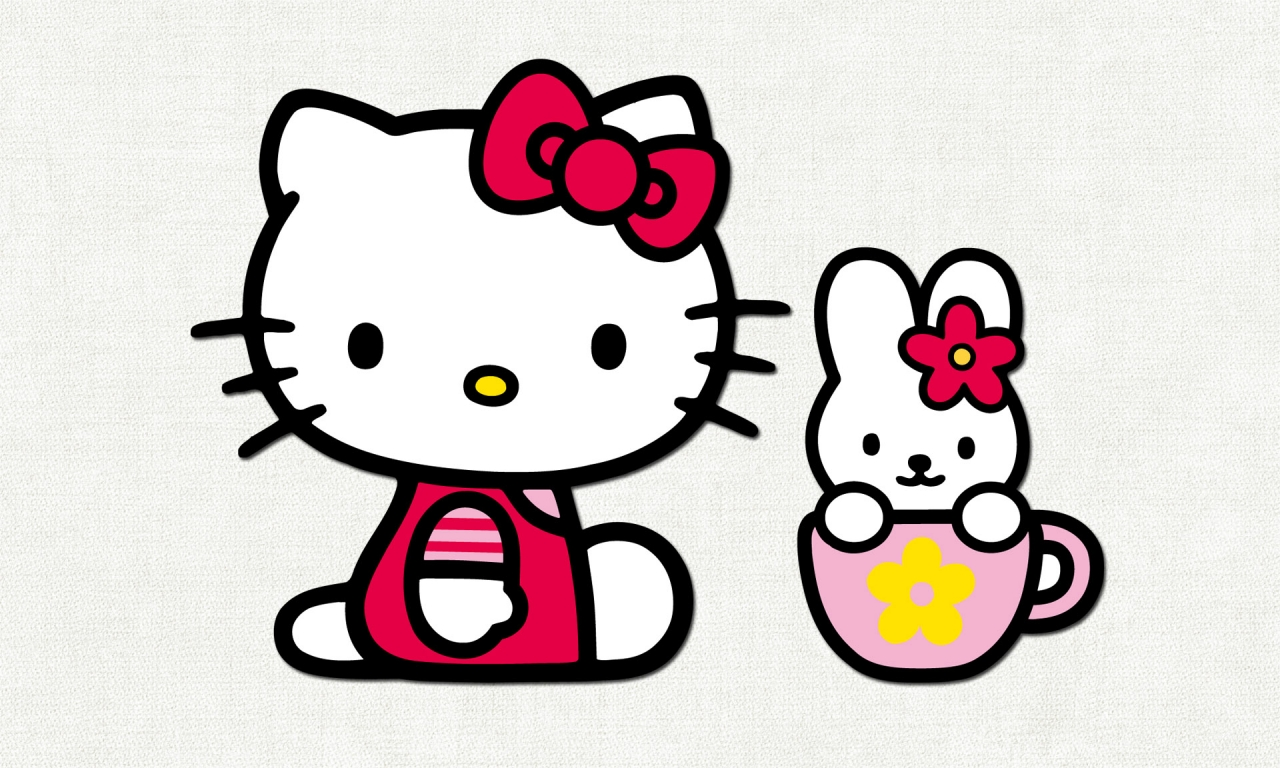 La gatita de Hello Kitty - 1280x768