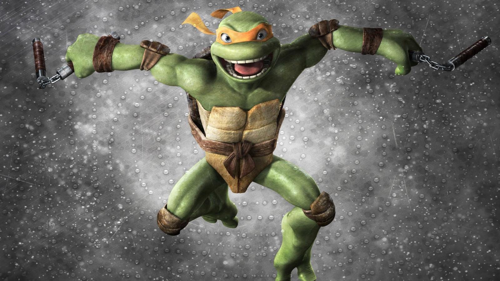Las tortugas ninja - 1600x900