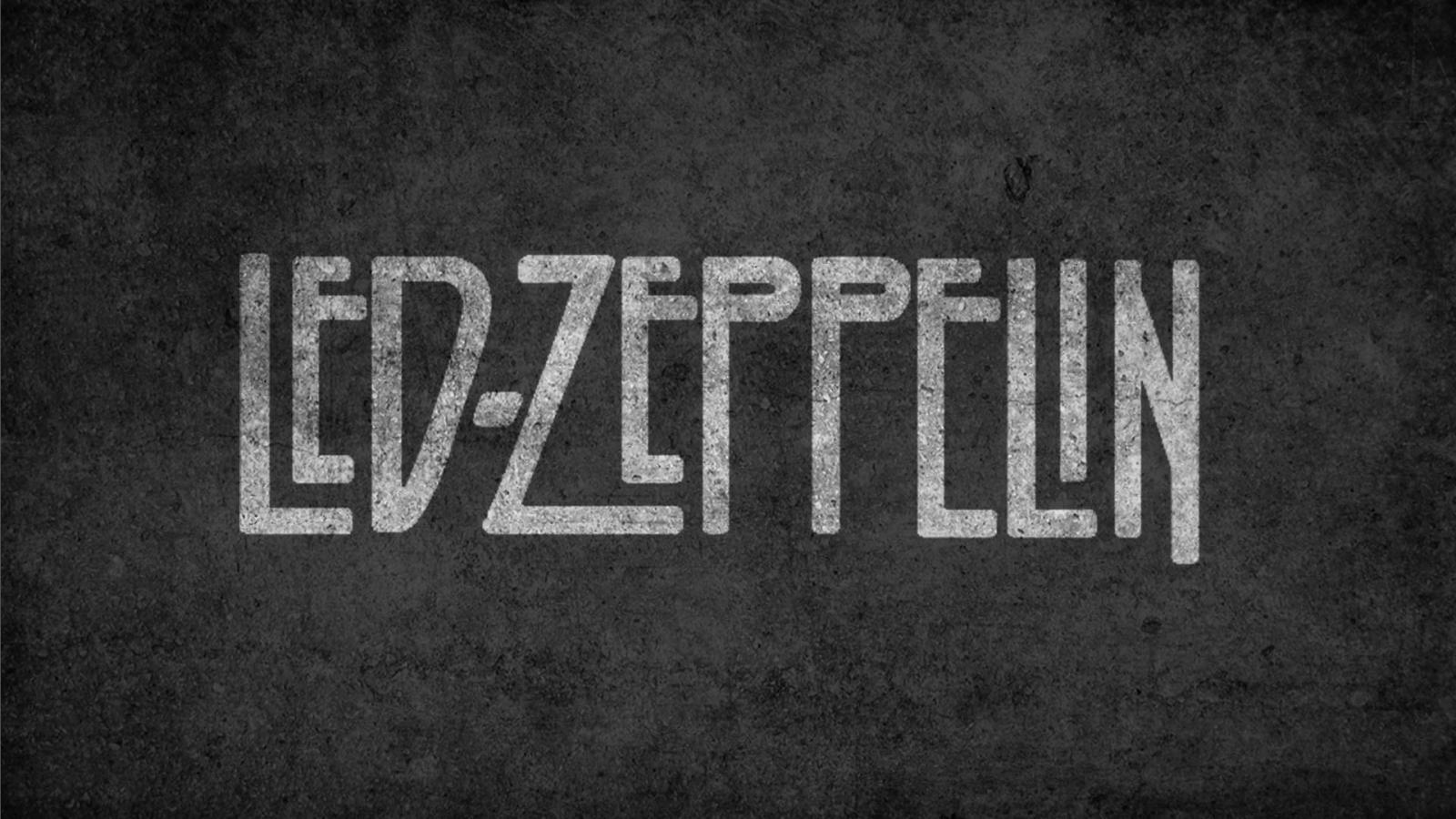 Led Zeppeling Rock - 1600x900