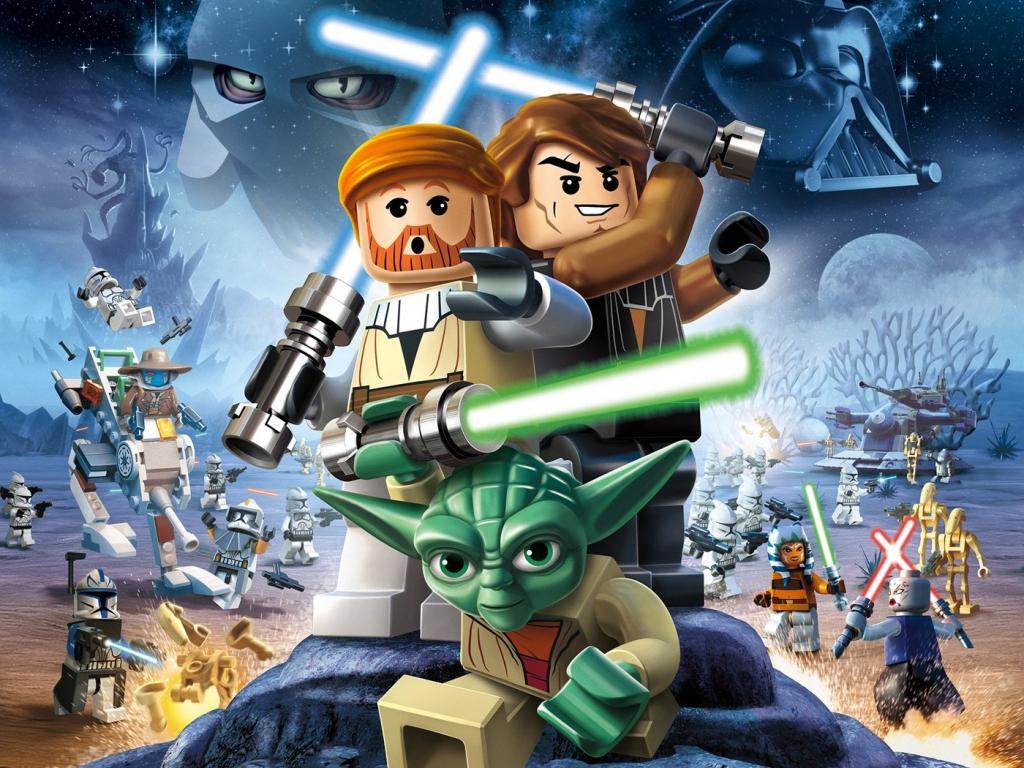 Lego Star Wars III - 1024x768