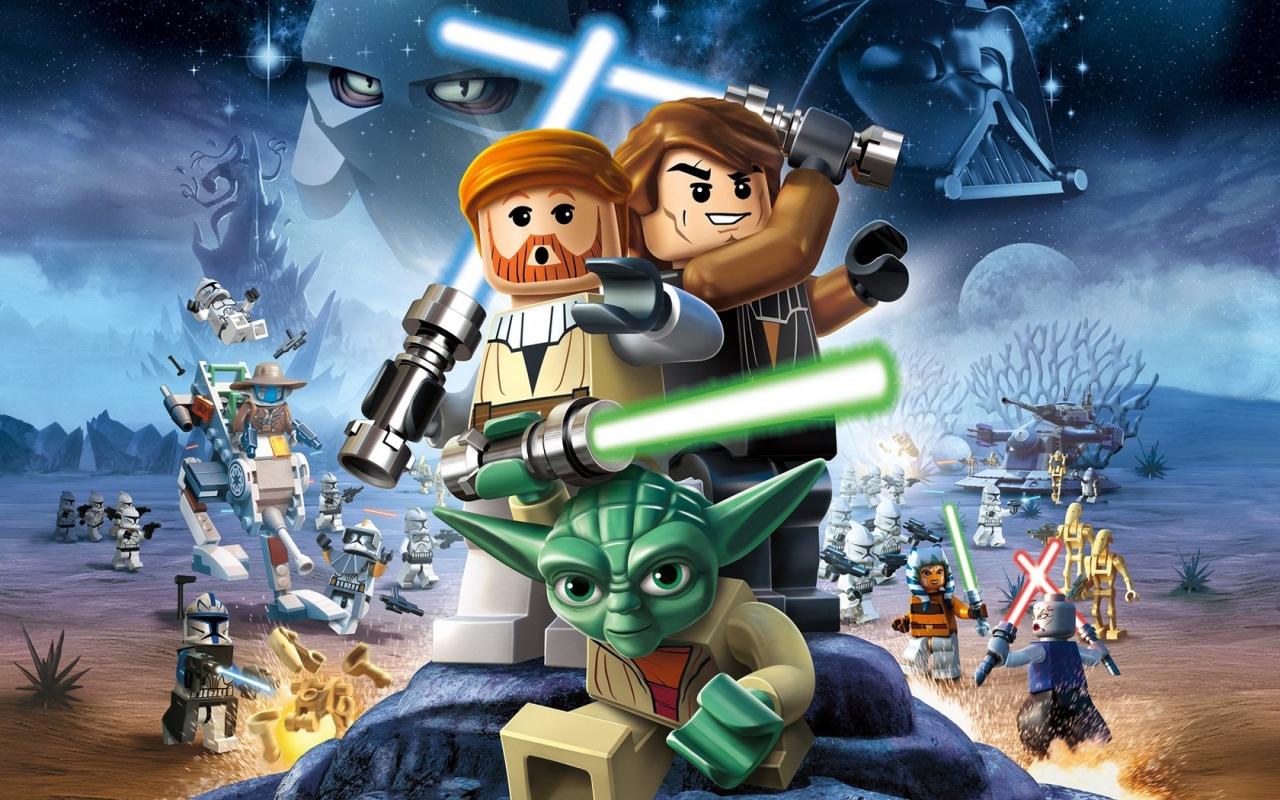 Lego Star Wars III - 1280x800