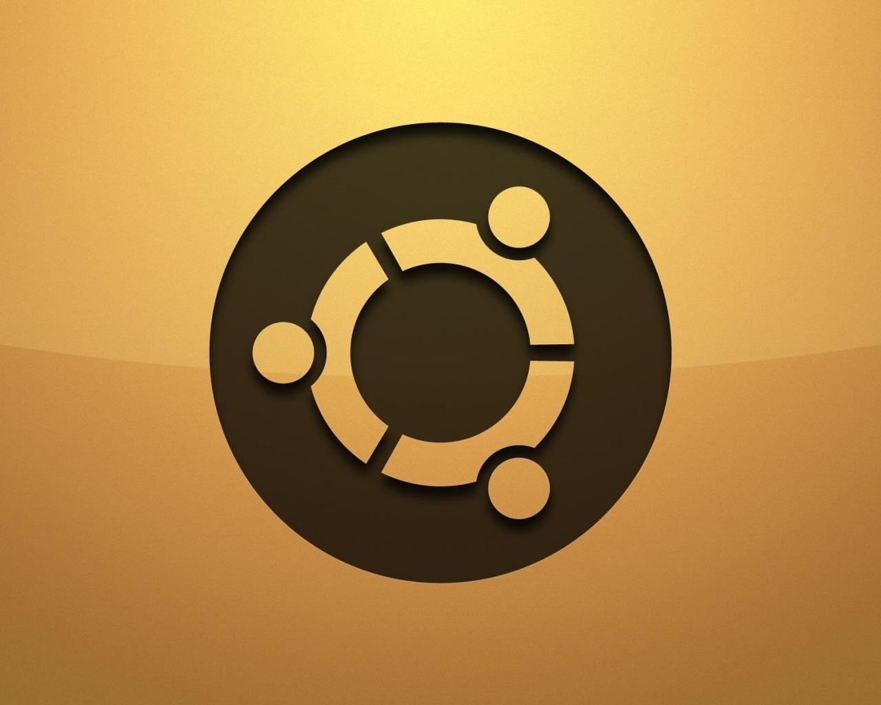 Logo de Ubuntu - 1280x1024