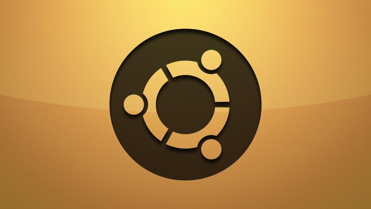 Logo de Ubuntu - 1280x720
