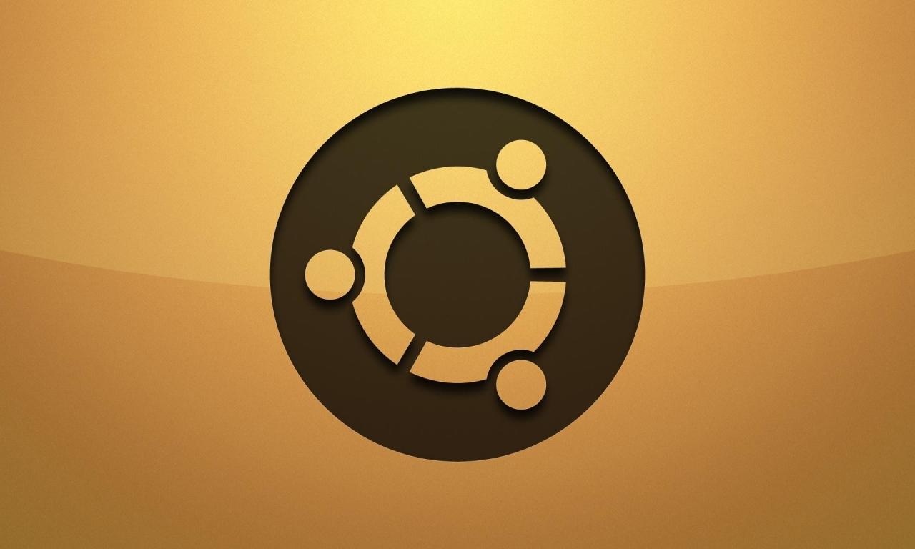 Logo de Ubuntu - 1280x768
