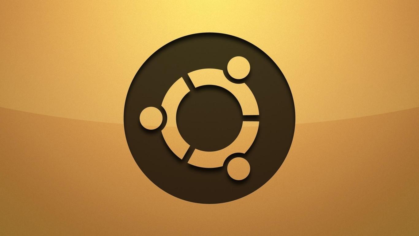 Logo de Ubuntu - 1366x768