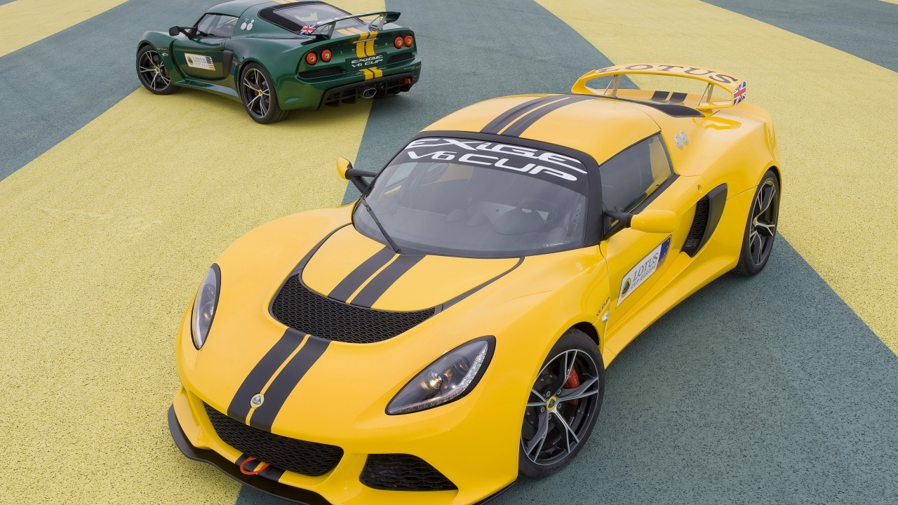 Lotus Exige 2013 - 1280x720