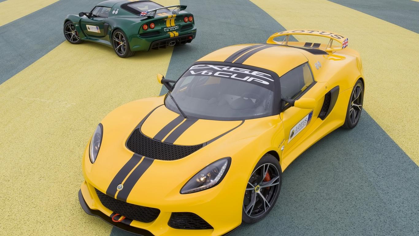 Lotus Exige 2013 - 1366x768