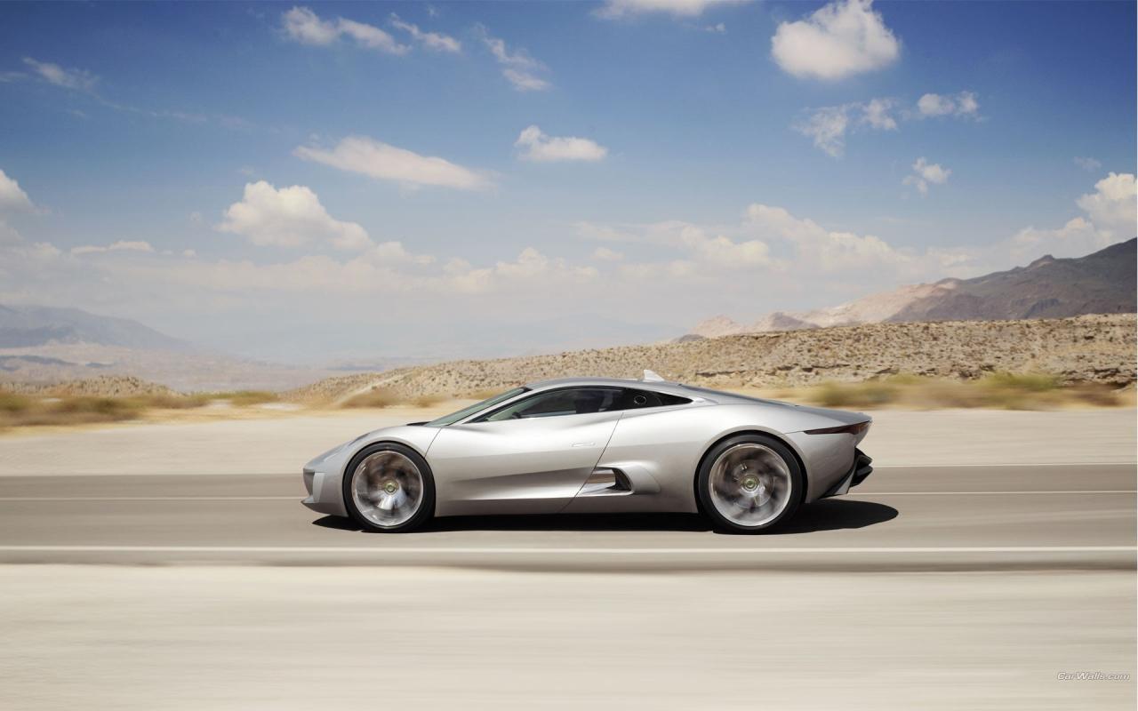 Lujoso auto Jaguar - 1280x800