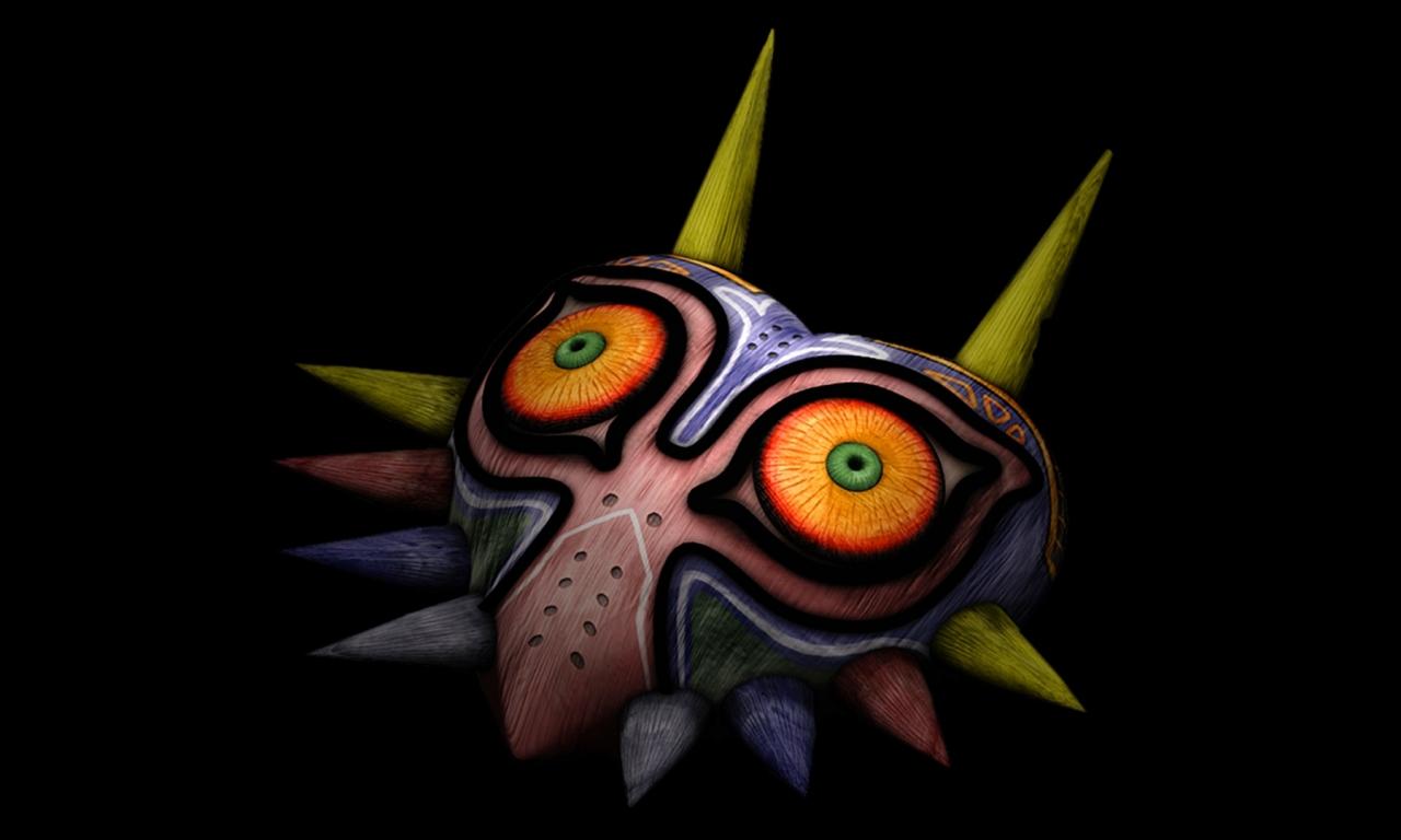 Majoras Mask - 1280x768