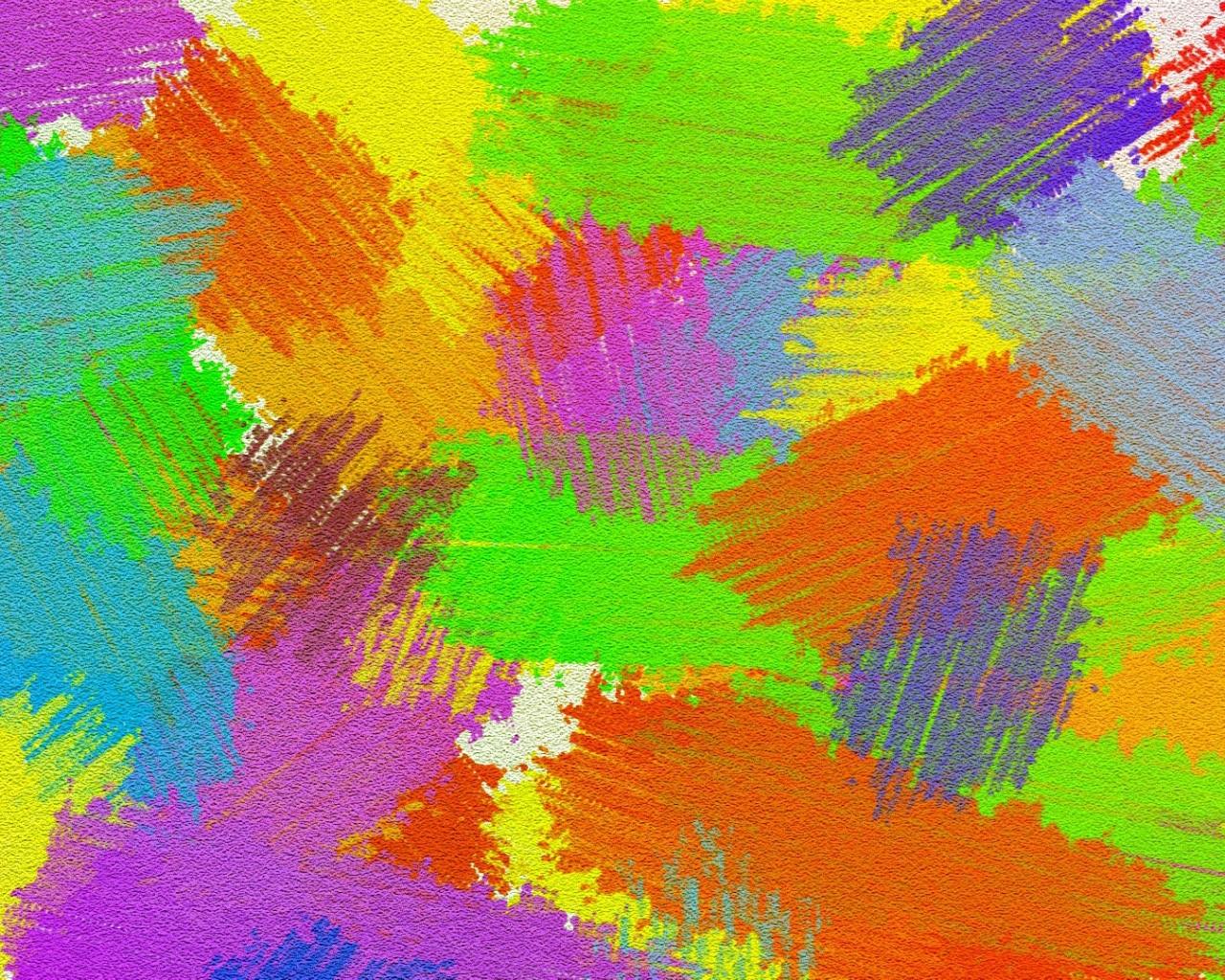 Manchas De Pinturas Hd 1280x1024