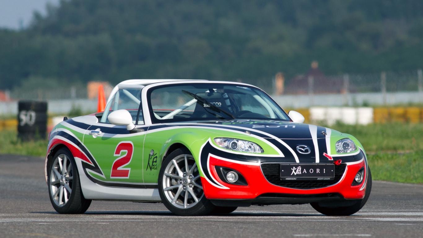 Wallpapers Hd Autos Fondos De Pantallas Hd: Mazda MX-5 G-T Hd 1366x768